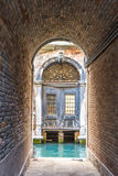 View of Venetian architecture during daylight. Venetian architecture during daylight. Venice, Italy Stock Photo