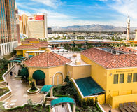 View from Venetian Hotel room Royalty Free Stock Images