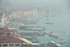 A view of Venice from above Royalty Free Stock Image