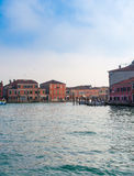 View of Venice from the canal Royalty Free Stock Photo