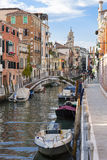 View of Venice canal Stock Photo