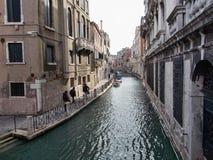 Venice canal in Italy stock photos