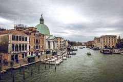View of Venice Grand Canal Royalty Free Stock Images