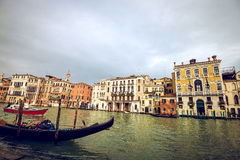 View of Venice Grand Canal Stock Images
