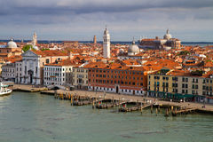 A view of Venice Italy Stock Photo