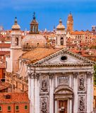 Venice Churches and Domes Royalty Free Stock Photo