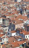 View of Venice ITALY from St Mark's Campanile Stock Image