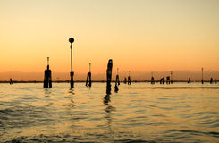 View of Venice lagoon Stock Images