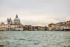 View of venice. Old and pictoresque buildings in Venice, Italy Stock Images