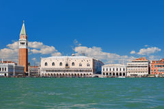 View on Venice over the Grand Canal Royalty Free Stock Photo