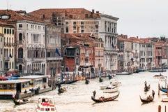 View of Venice from Rialto bridge royalty free stock photo