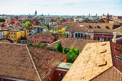A view of Venice rooftops from above, Italy Royalty Free Stock Photography