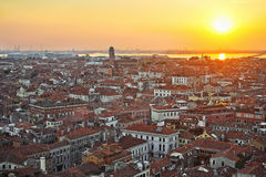 View of Venice from the top Royalty Free Stock Photo