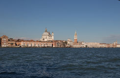 View of Venice waterfront, Venice, Italy Royalty Free Stock Photos