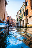 View of Venice waterways Stock Photography