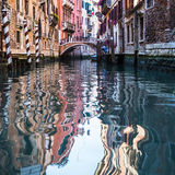 View of Venice waterways Royalty Free Stock Photos