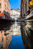 View of Venice waterways Royalty Free Stock Photo