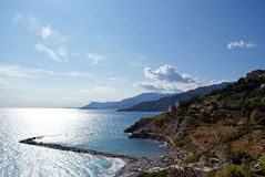 View Ventimiglia Stock Photo