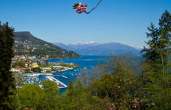 View of Verbania landscape Stock Photos