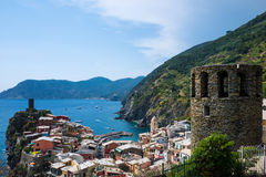 View of Vernazza Royalty Free Stock Image