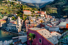 View of Vernazza Royalty Free Stock Photos