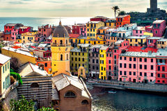 View of Vernazza Royalty Free Stock Photography
