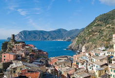 View of Vernazza Royalty Free Stock Photo