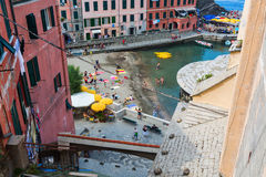 View of Vernazza, Cinque Terre, Italy royalty free stock photo