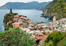 View of Vernazza Stock Photos