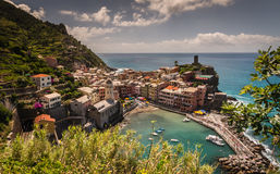View of Vernazza Italy Royalty Free Stock Images