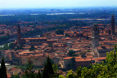 Looking down on Verona Stock Image