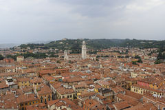 View of Verona, from the Tower of Lamberti Stock Photos