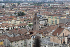 View of Verona, from the Tower of Lamberti Stock Photo