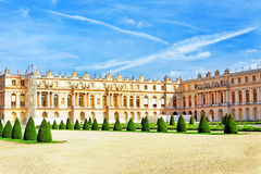 View of Versailles Palace, Versailles. Stock Image