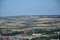 View from the VESTE COBURG castle in Coburg, Germany Stock Photo