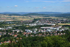 View from the VESTE COBURG castle in Coburg, Germany Stock Photos