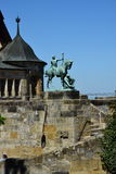 View of the VESTE COBURG CASTLE in Coburg, Germany Royalty Free Stock Images