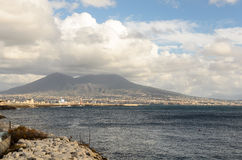 View of the Vesuvius Royalty Free Stock Photo