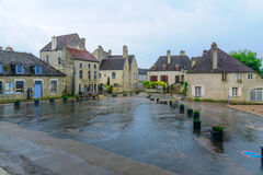 View of the Vezelay village royalty free stock images