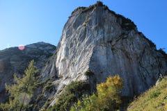 View from Via ferrata Kleiner Donnerkogel Stock Photos