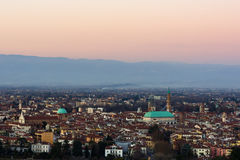 View of Vicenza royalty free stock photo