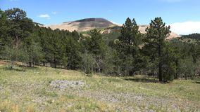 View of the Victor Gold Mine Above Cripple Creek Colorado 4K