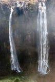 View of Victoria Falls on Zambezi River Stock Photography