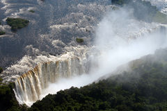 Victoria falls in Zimbabwe Royalty Free Stock Photography