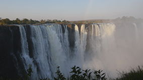 View of Victoria Falls from Zimbabwe side