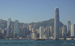 View of Victoria Harbour Royalty Free Stock Photos