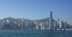 View of Victoria Harbour Royalty Free Stock Photo