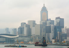 View of Victoria Harbour Royalty Free Stock Image