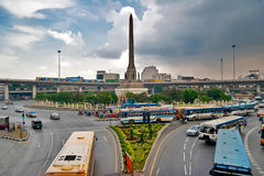 View on the Victory Monument Stock Photo