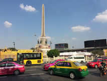 View of Victory Monument Royalty Free Stock Photo